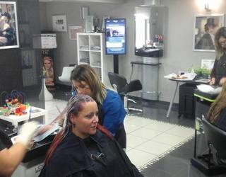 France Hair - Formation avec Emma de L'Oréal professionnel